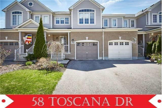 Townhouse at 58 Toscana Dr, Whitby, Ontario. Image 1