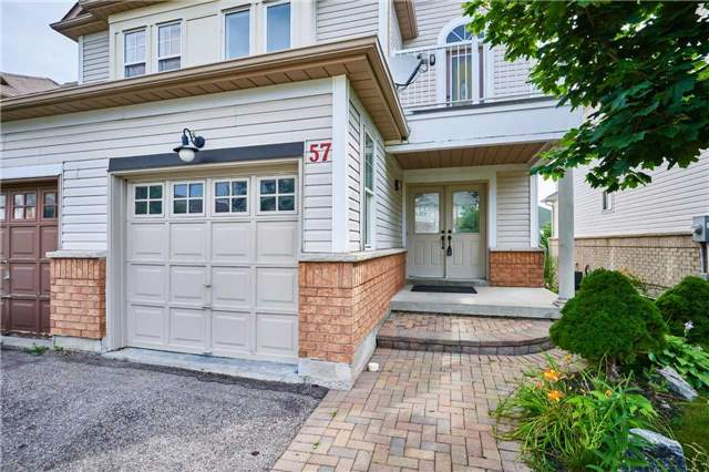 Semi-detached at 57 Foothill St, Whitby, Ontario. Image 1