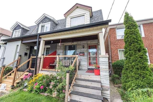 Semi-detached at 64 Eldon Ave, Toronto, Ontario. Image 3