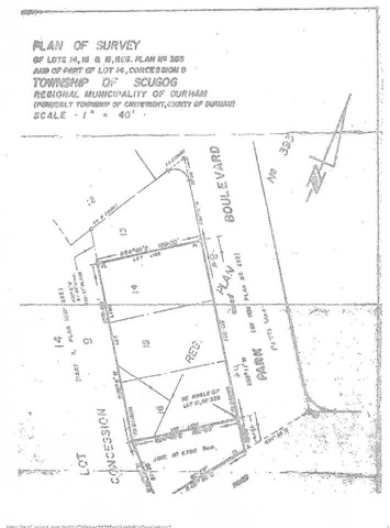 Vacant Land at 14 Potts Lane, Scugog, Ontario. Image 3