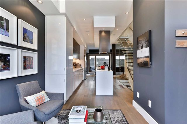 Townhouse at 837 Broadview Ave, Unit 6, Toronto, Ontario. Image 14