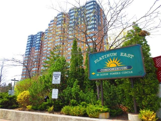 Condo Apartment at 80 Alton Towers Circ, Unit 2002, Toronto, Ontario. Image 1