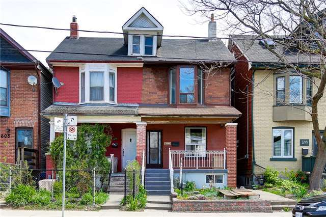 Semi-detached at 601 Pape Ave, Toronto, Ontario. Image 9