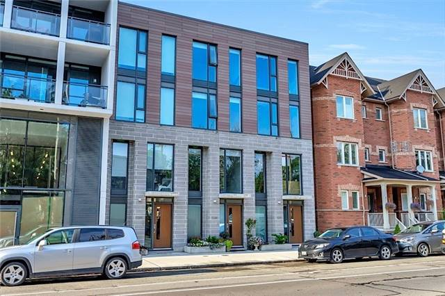 Condo Townhouse at 1248 Dundas St E, Toronto, Ontario. Image 1