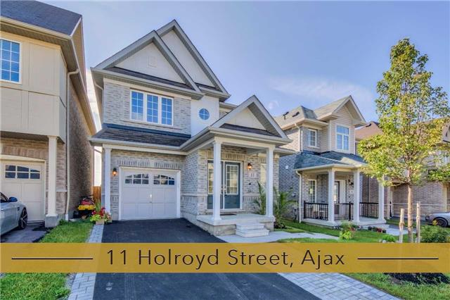 Detached at 11 Holroyd St, Ajax, Ontario. Image 1