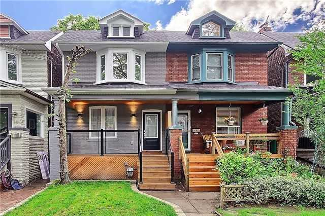 Semi-detached at 40 Monarch Park Ave, Toronto, Ontario. Image 1