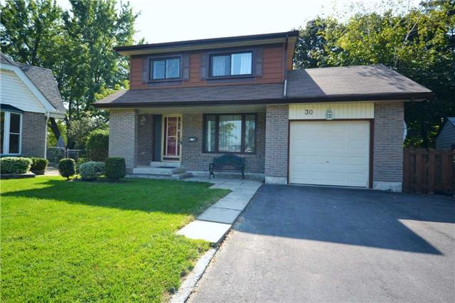 Detached at 30 Glenmount Crt, Whitby, Ontario. Image 1