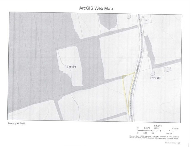 Vacant Land at Lot 21 20th Side Rd, Barrie, Ontario. Image 5