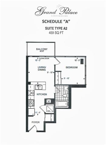 Condo Apartment at 9618 Yonge St, Unit 709, Richmond Hill, Ontario. Image 6
