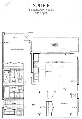 Condo Apartment at 9090 Yonge St, Unit 602, Richmond Hill, Ontario. Image 2