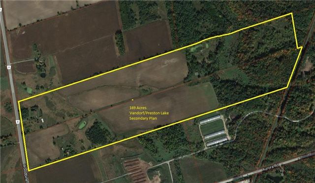 Vacant Land at 15517 Woodbine Ave, Whitchurch-Stouffville, Ontario. Image 1