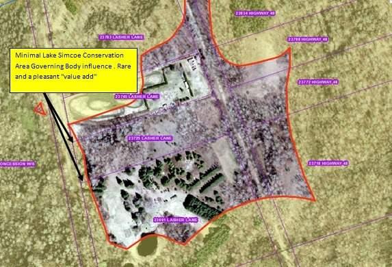 Vacant Land at 23725 Lasher Lane, Georgina, Ontario. Image 1