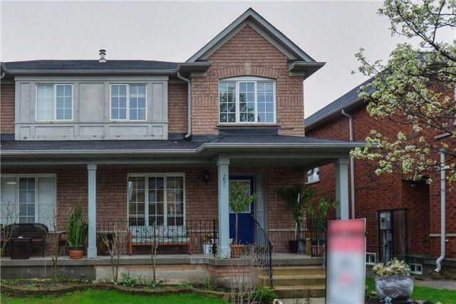 Semi-detached at 291 Via Carmine Ave, Vaughan, Ontario. Image 14