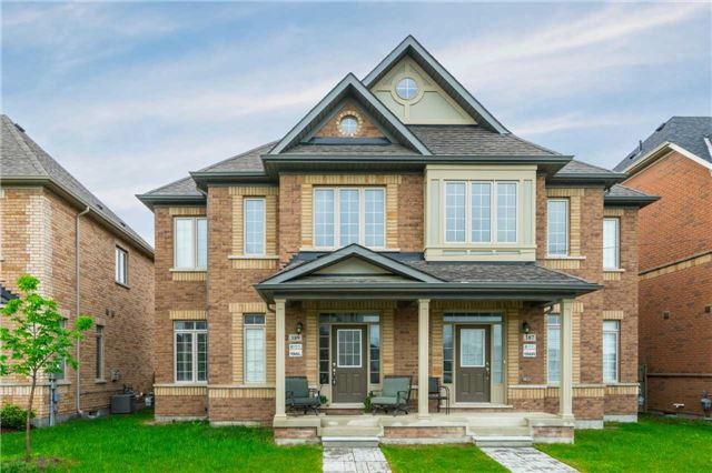 Semi-detached at 189 East's Corners Blvd, Vaughan, Ontario. Image 1