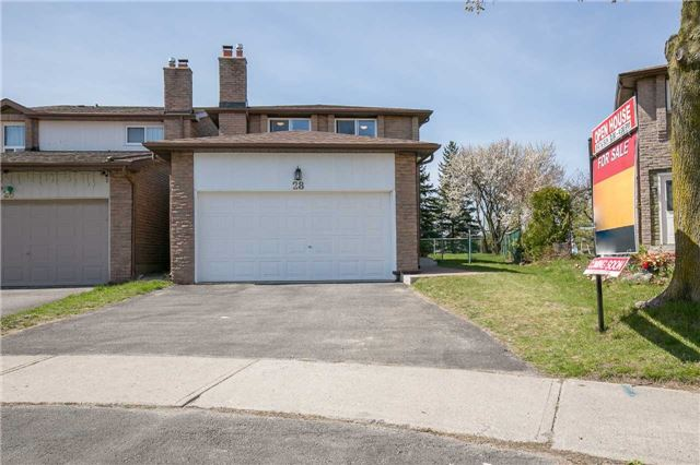 Link at 28 Fordcombe Cres, Markham, Ontario. Image 1