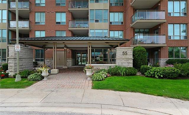 Condo Apartment at 55 The Boardwalk Way, Unit 307, Markham, Ontario. Image 1
