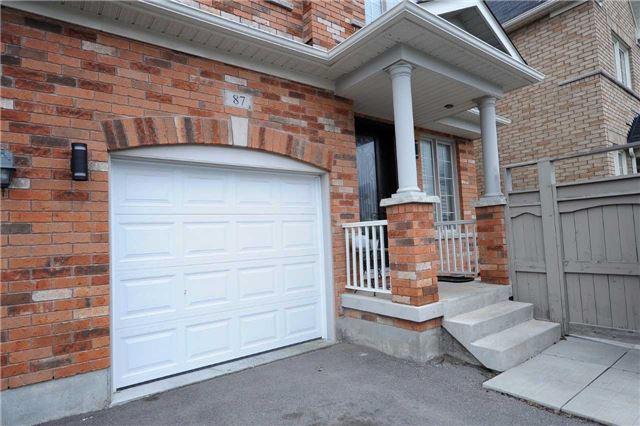Semi-detached at 87 Mary Ellen Baker Cres, Vaughan, Ontario. Image 12