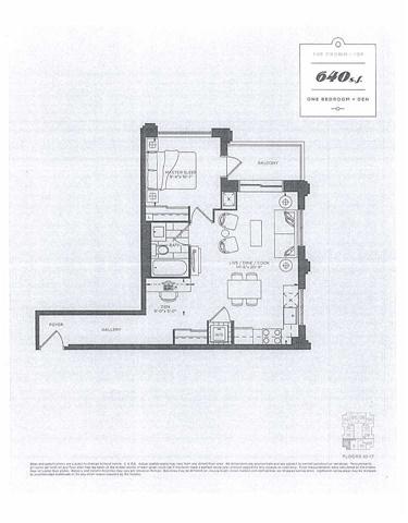 Condo Apartment at 9560 Markham Rd, Unit 1712, Markham, Ontario. Image 2