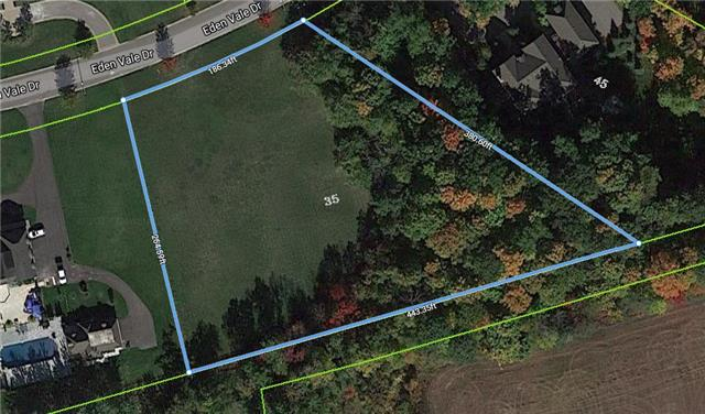 Vacant Land at 35 Eden Vale Dr, King, Ontario. Image 2