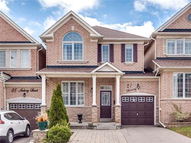 Townhouse at 27 Amberty St, Vaughan, Ontario. Image 1