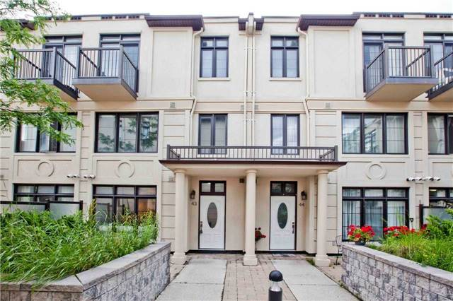 Townhouse at 7 Brighton Pl, Unit 43, Vaughan, Ontario. Image 1