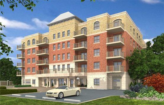 Condo Apartment at 46 Main St N, Unit 403, Markham, Ontario. Image 1