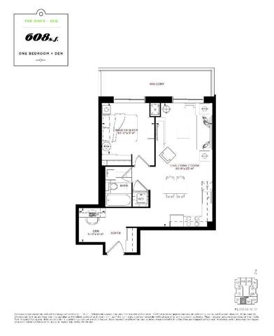 Condo Apartment at 9560 Markham Rd, Unit 1011, Markham, Ontario. Image 4
