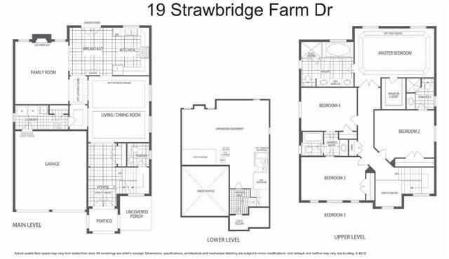 Detached at 19 Strawbridge Farm Dr, Aurora, Ontario. Image 13