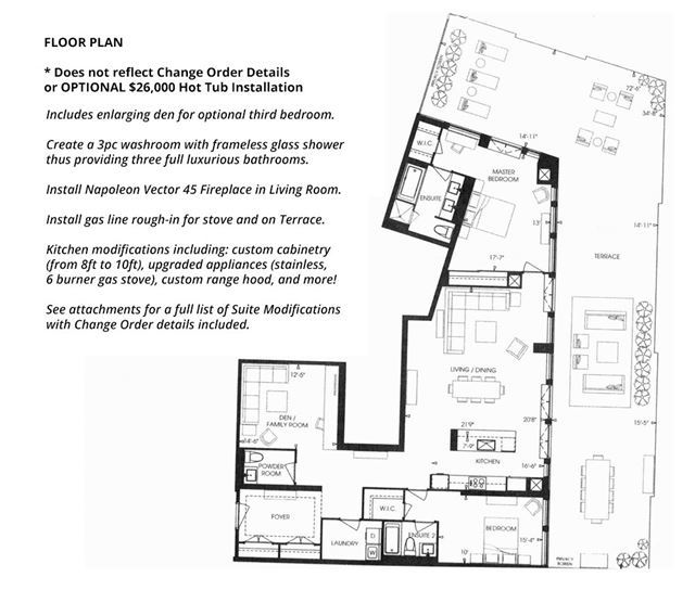 Condo Apartment at 20 Fred Varley Dr, Unit Ph02, Markham, Ontario. Image 6