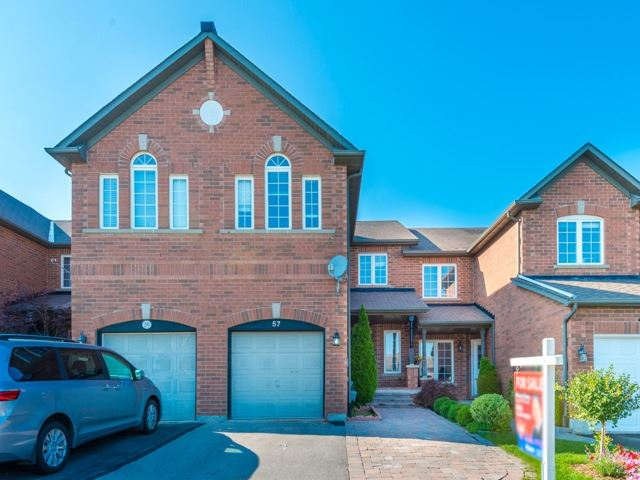 Townhouse at 57 Cedarcrest Cres, Richmond Hill, Ontario. Image 1
