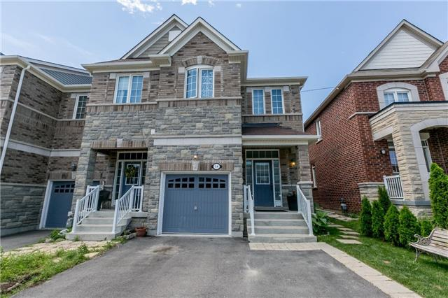 Townhouse at 14 Rogers Tr, Bradford West Gwillimbury, Ontario. Image 1