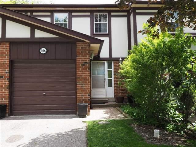 Condo Townhouse at 106 Bowman Way, Markham, Ontario. Image 1