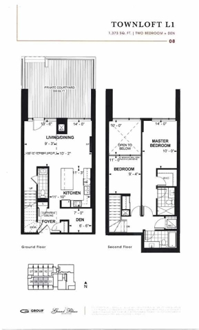 Condo With Common Elements at 9612 Yonge St, Unit Th5, Richmond Hill, Ontario. Image 7