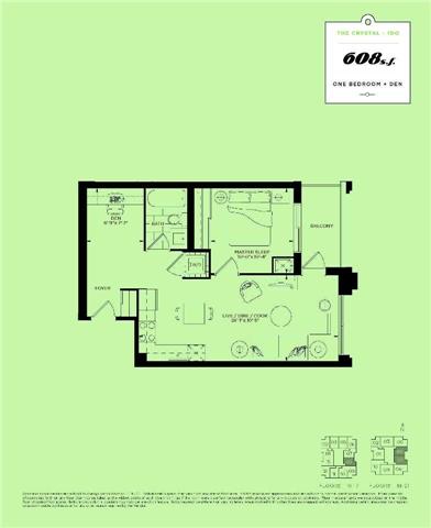 Condo Apartment at 9560 Markham Rd, Unit Lph7, Markham, Ontario. Image 4