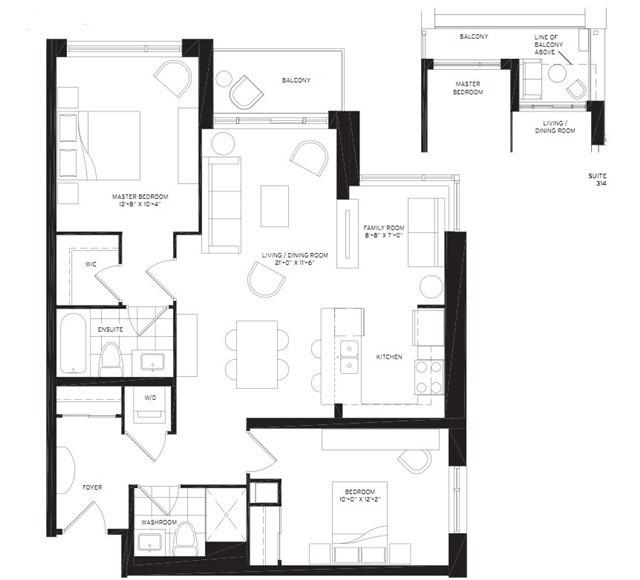Condo Apartment at 8130 Birchmount Rd, Unit 809, Markham, Ontario. Image 8
