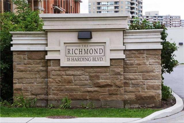 Condo Apartment at 18 Harding Blvd, Unit 102, Richmond Hill, Ontario. Image 1