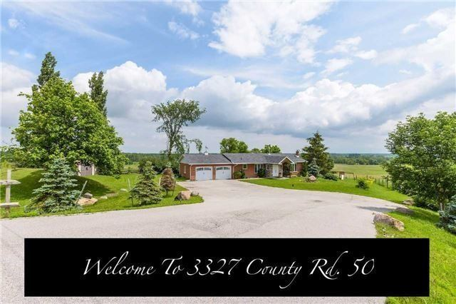 Detached at 3327 County Rd 50, Adjala-Tosorontio, Ontario. Image 1
