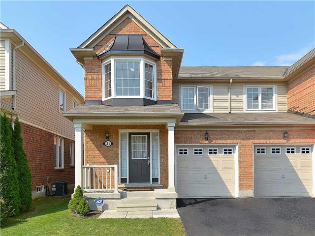Semi-detached at 31 Hiram Johnson Rd, Whitchurch-Stouffville, Ontario. Image 1