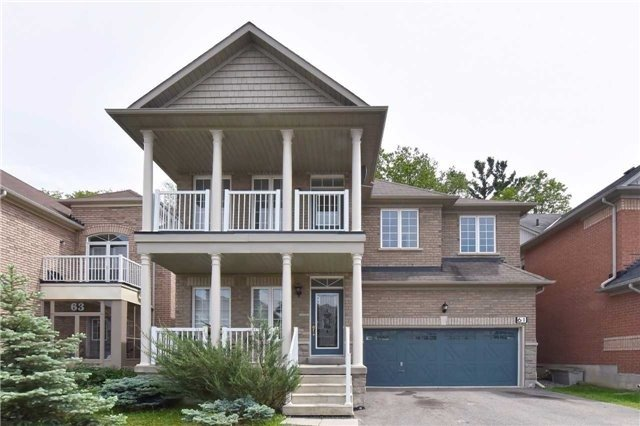 Detached at 61 Maroon Dr, Richmond Hill, Ontario. Image 1
