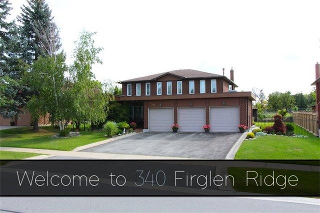 Detached at 340 Firglen Rdge, Vaughan, Ontario. Image 1