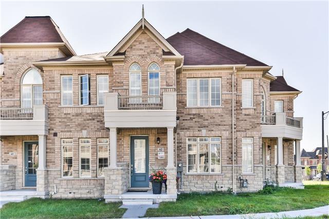 Townhouse at 62 Harbord St, Markham, Ontario. Image 1