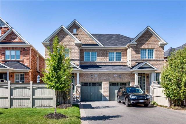 Semi-detached at 85 Mary Ellen Baker Cres, Vaughan, Ontario. Image 18