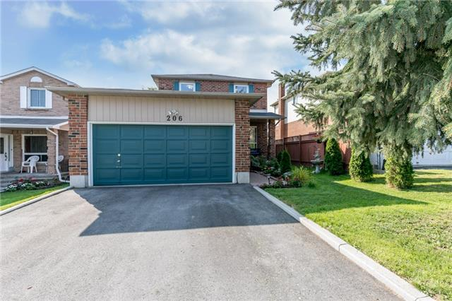 Detached at 206 Billings Cres, Newmarket, Ontario. Image 1