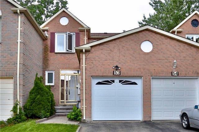 Townhouse at 52 Moonlight Lane, Richmond Hill, Ontario. Image 1