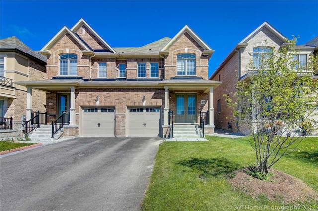 Semi-detached at 713 Yarfield Cres, Newmarket, Ontario. Image 1