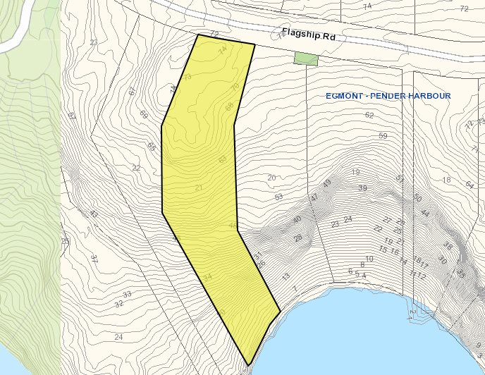 Vacant Land at LOT 21 FLAGSHIP ROAD, Unit LOT 21, Sunshine Coast, British Columbia. Image 2