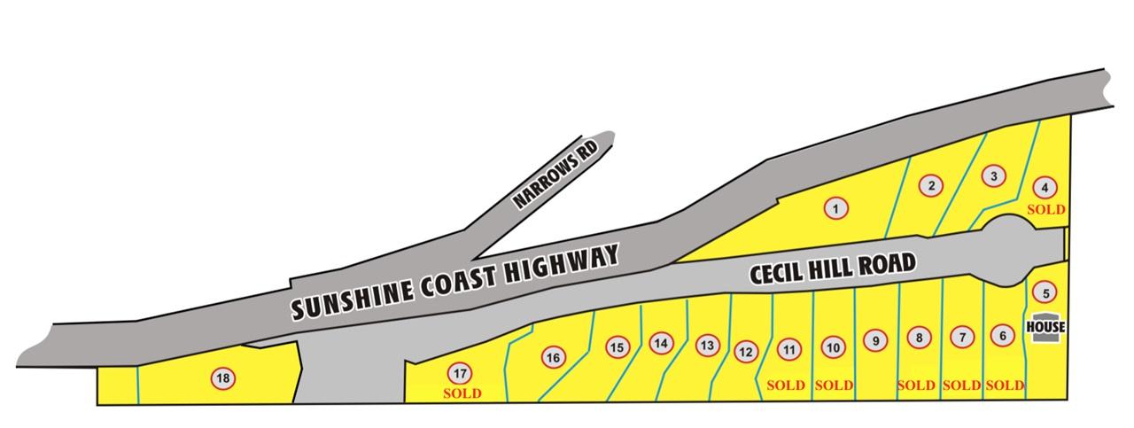 Vacant Land at LOT 15 CECIL HILL ROAD, Unit LOT 15, Sunshine Coast, British Columbia. Image 8