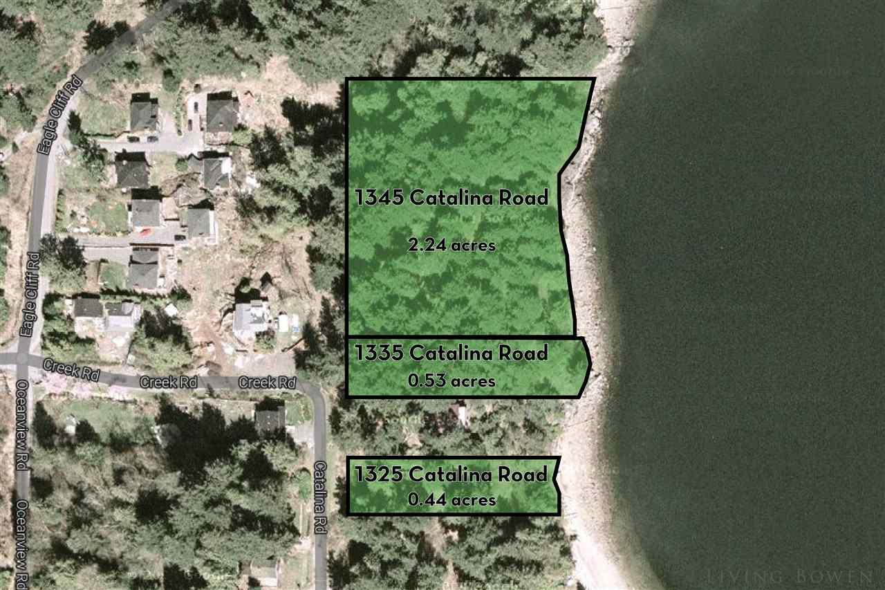 Vacant Land at 1345 CATALINA ROAD, Bowen Island, British Columbia. Image 2
