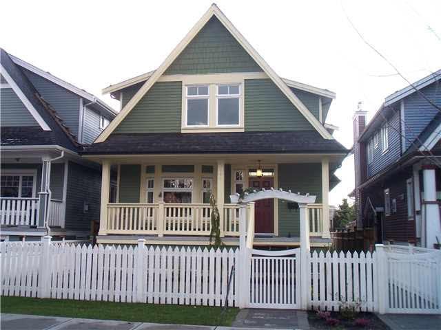 Half-duplex at 1791 WILLIAM STREET, Vancouver East, British Columbia. Image 1