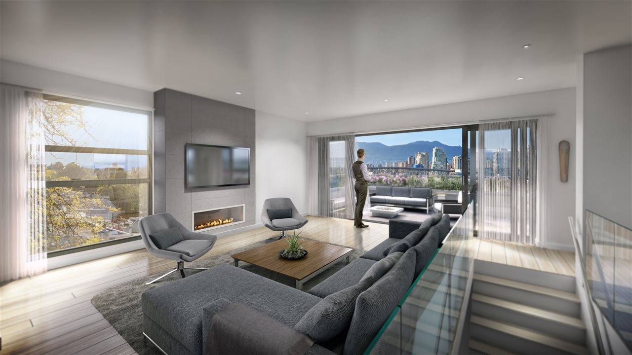 Townhouse at TH2 1107 W 7TH AVENUE, Unit TH2, Vancouver West, British Columbia. Image 2